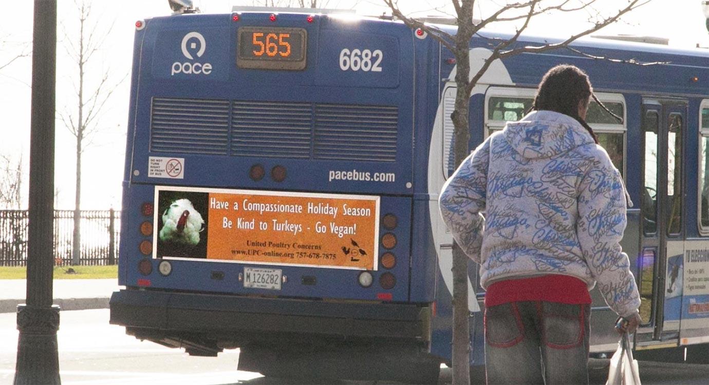 chicago bus ad