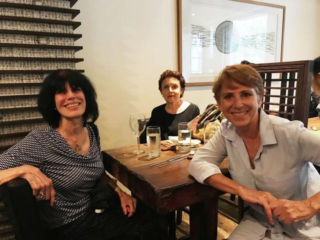 Karen Davis, Sheila Schwartz and Caryn Hartglass