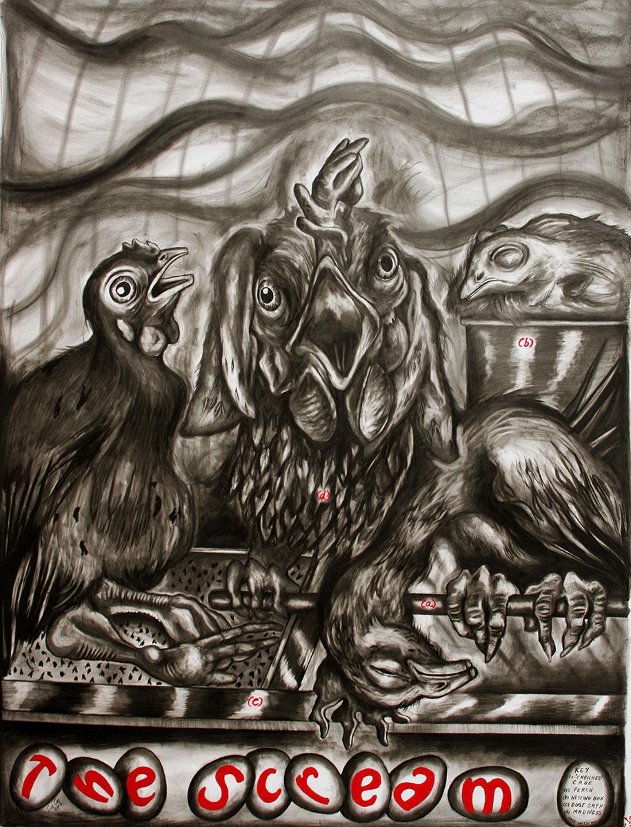 The Scream by Sue Coe