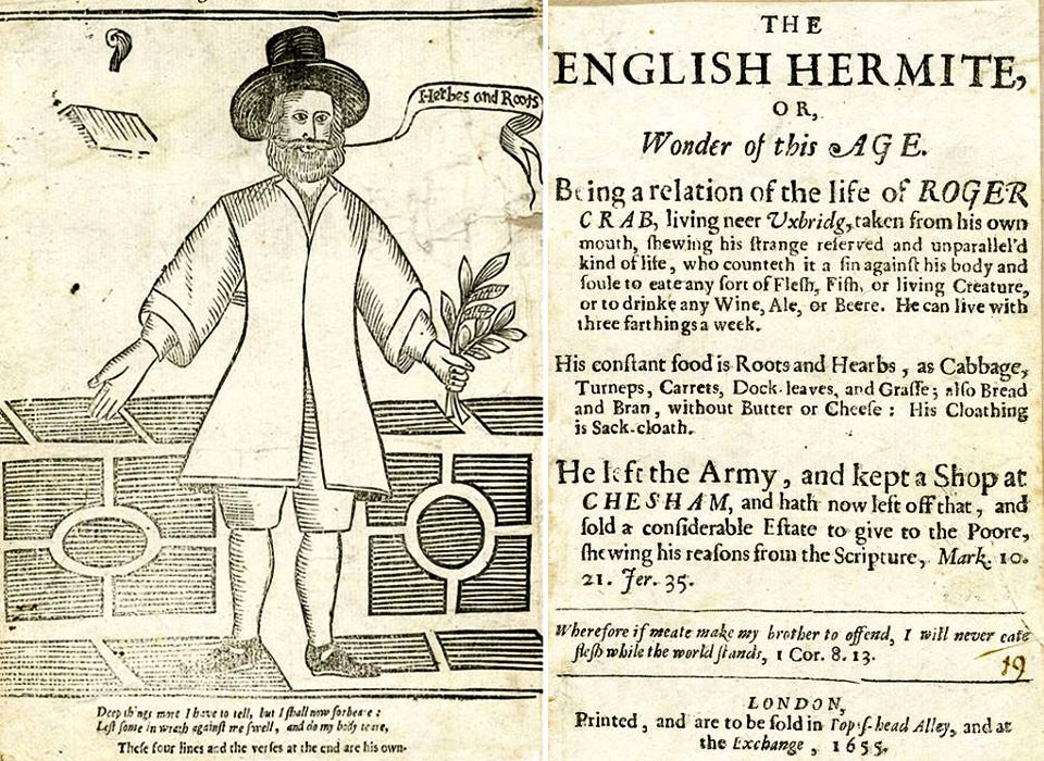 The English Hermite published 1635