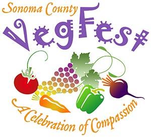 Sonoma Valley VegFest logo