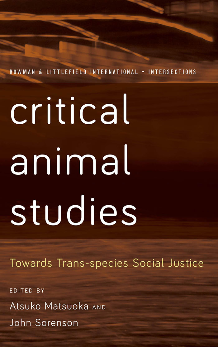 Critical Animal Studies book cover