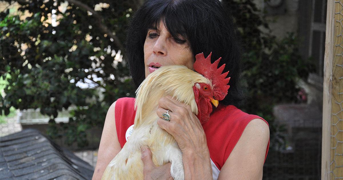 Karen holding Nathaniel