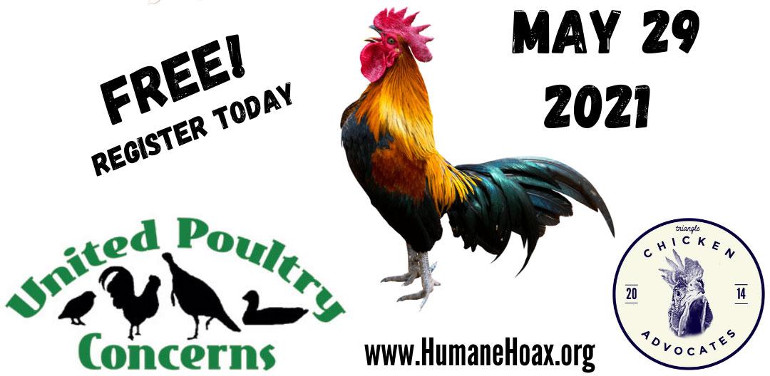 The Human Hoax Chicken Webinar sponsors