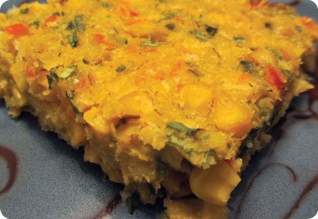 vegan sw corn pudding