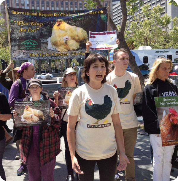ircd sf protest meat co2