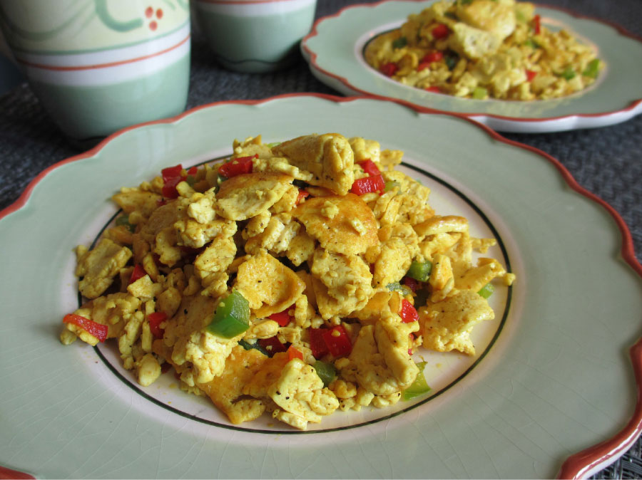 15 min Easy Tofu Scramble