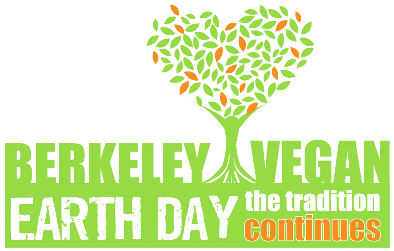Berkeley Vegan Earth Day poster.