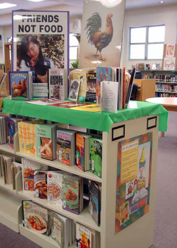 IRCD Library Display